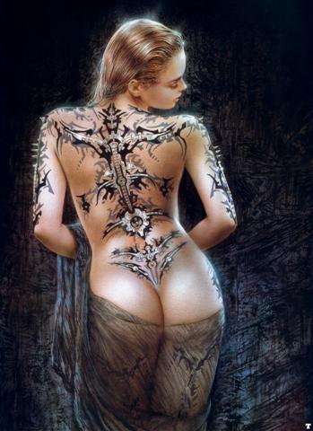 corps femme tatouée nue femme nue du x